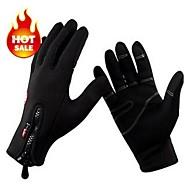 gants de vélo chaud complet doigt réchauffer garder douce et chaude pleins mitaines de vélo doigt de vélo l'hiver coupe-vent thermique