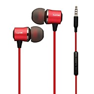 PLEXTONE® In-Ear Metal Heavy Bass Earphone with Mic and Compatibe for iPhone/iPad/PC