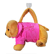 Dog Design Plush Toys Soft Hand Bag