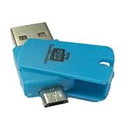2 in 1 Micro SD TF kortinlukija otg USB 2.0 PC-ja Samsung-puhelimet (valikoituja väriä)