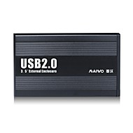 "MAIWO 3.5"" USB 2.0 IDE External Hard Drive HDD Enclosure K3502U2I"