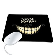 Elonbo We're All Mad Here PU Leather Anti-slip Mousepad Computer Mouse Pad