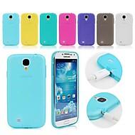 TPU mekana slučaj s prašinom utikačem za Samsung Galaxy S4 mini i9190 (assorted boje)
