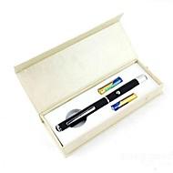 réglable brûlant pointeur laser en forme de stylo rouge lt-8883 (de 1mw.650nm.2xaaa.black)