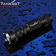 LED Flashlights/Torch / Handheld Flashlights/Torch LED 5 Mode 500 LumensWaterproof / Rechargeable / Impact Resistant / Nonslip grip /