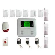ערכת חיוג אוטומטי הגנה כפולה מערכת אזעקת אבטחה אלחוטית סלולרית