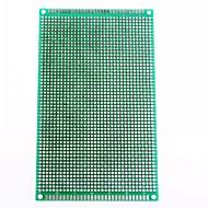 9 x 15cm kaksipuolinen lasikuitu prototyyppien pcb universaali koekytkentälevyn (2 kpl)