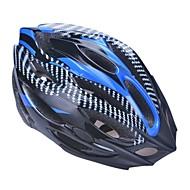 Unisex Fashion and High-Breathability PVC + EPP Bicycle Helmet With Detachable Sunvisor(21Vents) - Light Blue + Black