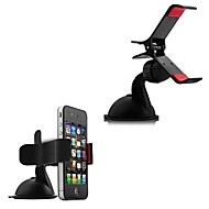 360 Degree Rotating Car Phone Windshield Sucker Mount Bracket Holder for Iphone and Others(3pcs)