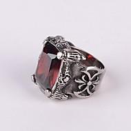 Ringe Fest Daglig Afslappet Smykker Titanium Stål Statement-ringe7 8 9 10 11 12 Sølv