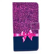 Για Samsung Galaxy Note Θήκη καρτών / με βάση στήριξης / Ανοιγόμενη / Με σχέδια tok Πλήρης κάλυψη tok Λεοπάρ Συνθετικό δέρμα SamsungNote