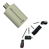 Micro USB host uros USB naaras OTG adapteri Android Tablet PC ja puhelin