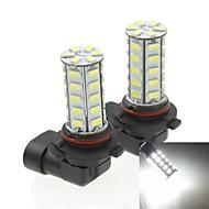 9005 20w 36x5730smd 800-1200lm 6000-6500K luz blanca llevó el bulbo de lámpara de la niebla del coche (un par / ac12-16v)