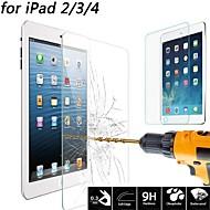 protector de la pantalla de vidrio templado prima más alta calidad para el ipad 2/3/4