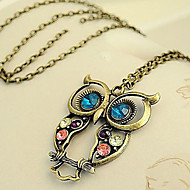 Dames Hangertjes ketting Vintage Kettingen Zirkonia Legering Modieus Kostuum juwelen Sieraden Voor Dagelijks