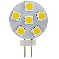 Decorative Spot Lights , G4 2 W 6 SMD 5050 200 LM Warm White DC 12 V