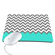 elonbo kaunis Chevron pu nahka anti-slip hiirimatto tietokoneen hiiri pad