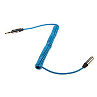 1m 3.28FT Stereo Audio 3.5mm Male to Audio 3.5mm Female Extense Cable
