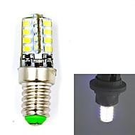 JMT E14 4w 32x2835smd 300lm varm / kold hvid lys førte pære (ac110-240v)