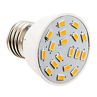 Candle Bulbs , E26/E27 4 W 18 SMD 5730 280 LM Warm White AC 110-130 V
