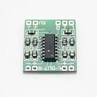 mini digital lydforsterker bord - grønn