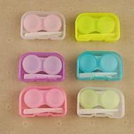 draagbare opslag box snoep gekleurde contactlenzen (willekeurige kleur)