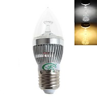 Zweihnder E26/E27 5 W 15 SMD 2835 450 LM Warm White/Cool White C Decorative Candle Bulbs AC 220-240 V
