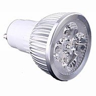 4W GU10 LED Spotlight 4 High Power LED 440 lm Warm White / Cool White Dimmable AC 220-240 V