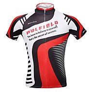 WOLFBIKE Wielrennen Kleding Bovenlichaam / Shirt Heren FietsenAdemend / Sneldrogend / Rits Aan De Voorzijde / Lichtgewicht materiaal /