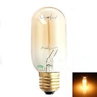 E26/E27 T - Ljus glödlampor (Varmt vit , Dekorativ) 500 lm AC 220-240