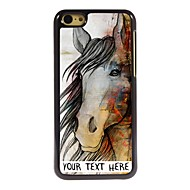 Personalized Phone Case - The Horse Design Metal Case for iPhone 5C
