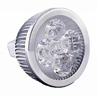 GU5.3(MR16) 5 W 5 High Power LED 550 LM Warm White / Cool White MR16 Dimmable Spot Lights DC 12 / AC 12 V