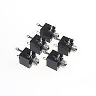 3.5-kanavainen stereo audio jack socket (5kpl)