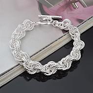 Bayanların - Kol Düğmesi - Bilezikler (Gümüş)
