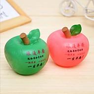 tirelire paix fruits pomme romantique conduit la lumière nigth (couleur aléatoire)