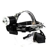 GOREAD T01 Waterproof 4-Mode 3*Cree XML T6 Headlamp(2500LM,18650 Battery Pack,Black)