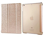 FUUSII® Natural silk and TPU Back Cover Case For Ipad 5/Air(Assorted Colors)