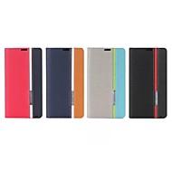 Para Funda Nokia Soporte de Coche / con Soporte / Flip Funda Cuerpo Entero Funda Un Color Dura Cuero Sintético NokiaNokia Lumia 1020 /