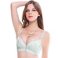 Meiqing® Removable Strap Bras Nylon Green - 3026
