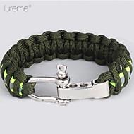 Survival Bracelet Hiking Nylon Other - Lureme