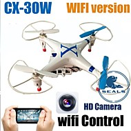 Cheerson CX-30W Drone Wifi Version Phone Control Drone With Camera FPV RC Helicopter Quadcopter 4CH 6-Axis