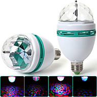 MORSEN E26/E27 3 W 1 High Power LED 300-400 LM RGB A Decorative Spot Lights/LED Stage Lights AC 85-265 V
