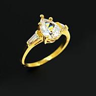 kvinders gyldne legering bryllup par ringe promis ringe til par