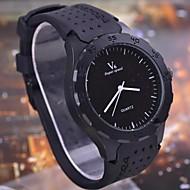 Herrenmode casual luxury große Zifferblatt Quarz-runde Gehäuse Sport Militärgeschäft Uhren