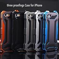 KLW 3 em 1 de metal caso quakeproof poeira à prova d'água para iPhone 5 / 5s (cores sortidas)