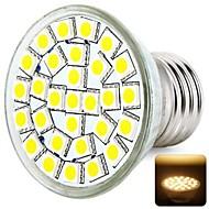 E26/E27 - 6 Spot Lights (Varmt vit/Naturlig Vit 600LM lm AC 220-240