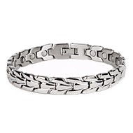Fashion Jewelry Healing Magnetic 316L Stainless Steel Bracelet  8.5""