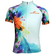 jesocycling® polyester respirant manches courtes Maillot femmes
