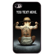Personalized Case Boy Design Metal Case for iPhone 4/4S