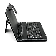 Sanshuai 7 Inch Universal Tablet Case with USB 2.0 QWERTY Keyboard